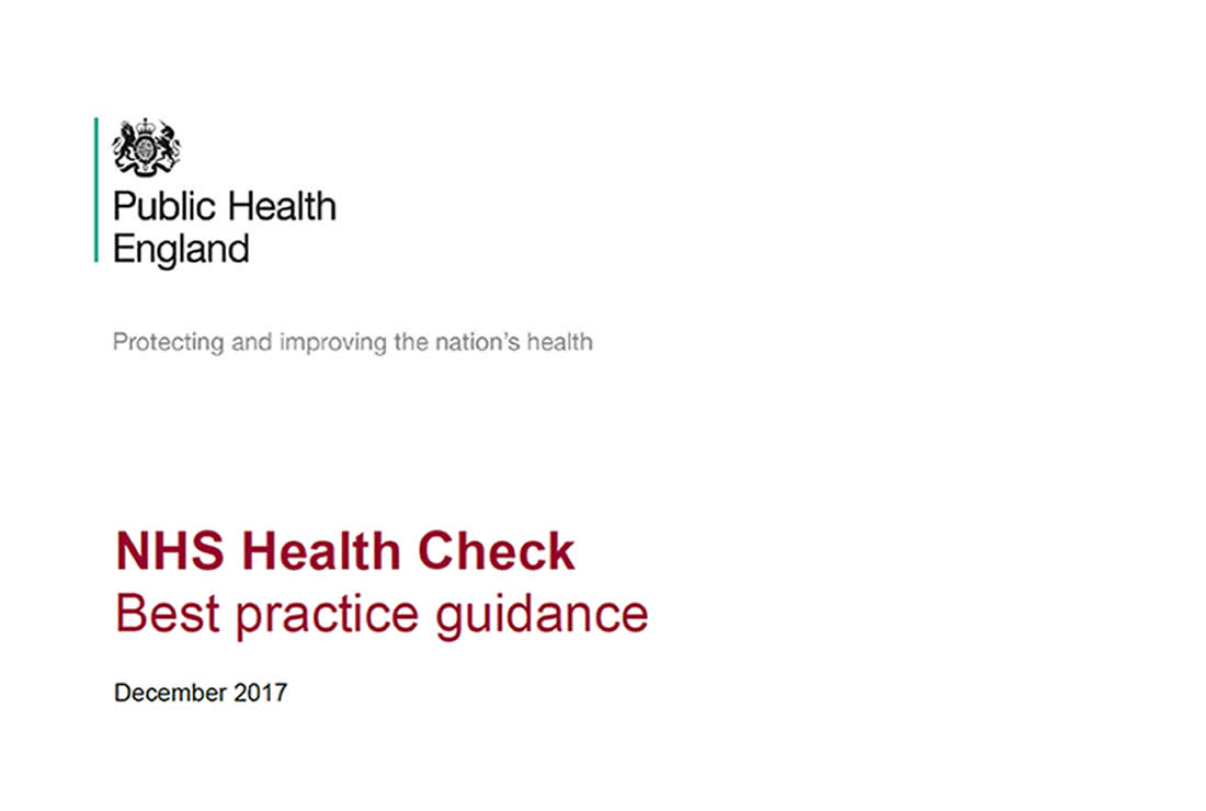 NHS Health Check: Best Practice Guidance (December 2017)