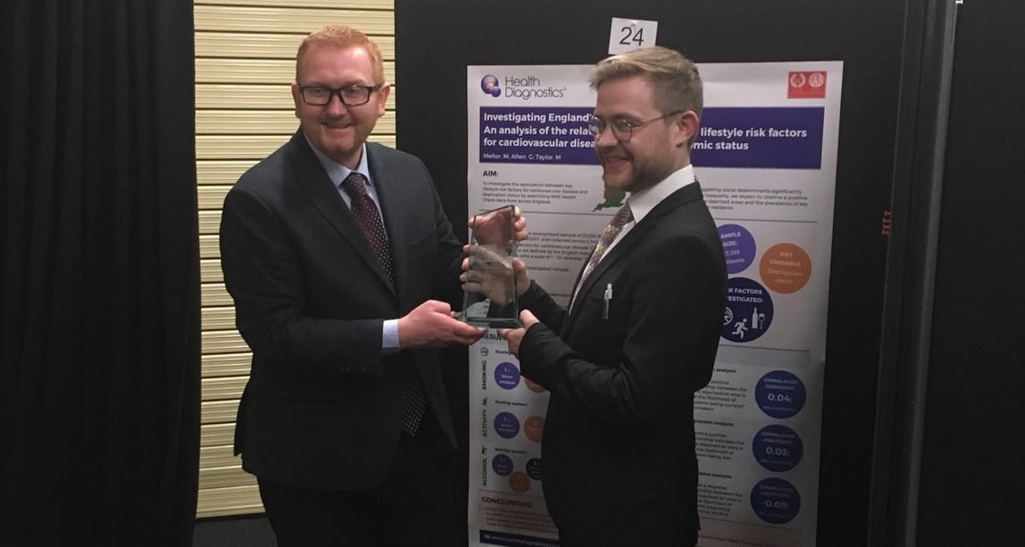 Health Diagnostics win research poster competition at PHE's 2018 CVD Prevention Conference